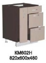 Модуль КМ 602 Н (без столешницы) кухни Кармен