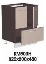 Модуль КМ 603 Н (без столешницы) кухни Кармен