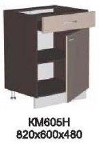 Модуль КМ 605 Н (без столешницы) кухни Кармен