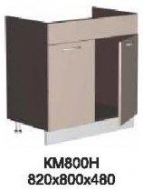 Модуль КМ 800 Н (без столешницы) кухни Кармен