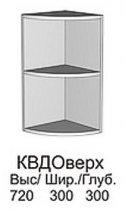 Модуль КВД окончание верх кухни Квадро