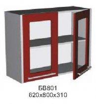 Модуль БВ 801 витрина кухни Бордо