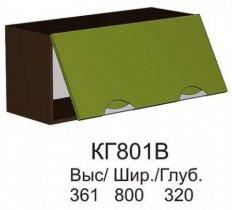 Шкаф верхний КГ 801 В кухни Конго