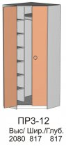 Шкаф угловой ПР3 12 прихожей Омега