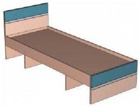 Кровать ИН 14 детской Индиго