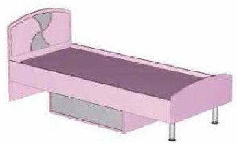 Кровать детской Пинк