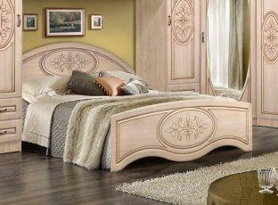 Кровать 1400/370 «Василиса»