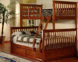 Двухъярусная кровать трансформер Chaswood Олигарх+ - 90/140см