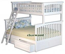Двухъярусная кровать трансформер Chaswood Олигарх - 90/120см