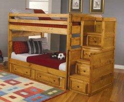 Двухъярусная кровать трансформер Chaswood Саванна - 90х190см