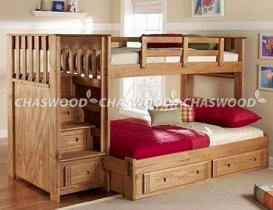 Двухъярусная кровать трансформер Chaswood Саванна+ - 90/120см