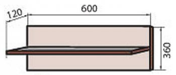 Корпус модуля полки (М-9) системы Сафари