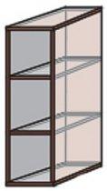 Модуль №1 в 200-720 верх кухни «Квадро»