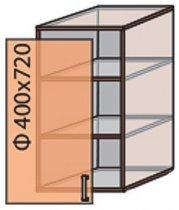 Модуль №3 в 400-720 верх кухни «Квадро»