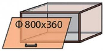 Модуль №11 в 800-360 верх кухни «Квадро»