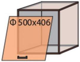 Модуль №12 в 500-406 верх кухни «Квадро»