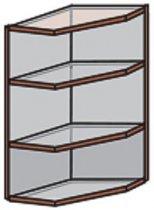 Модуль №15 вр 280-720 верх кухни «Квадро»