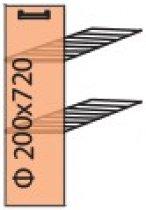 Модуль №1+ н 200-820 Квадро(карго) низ кухни «Квадро»