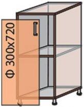 Модуль №2 н 300-820 низ кухни «Квадро»
