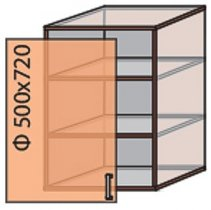 Модуль №5 в 500-720 верх кухни «Мода»