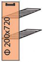 Модуль №1+ н 200-820 (карго) низ кухни «Мода»