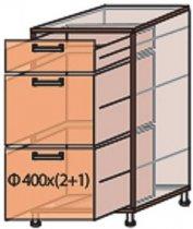 Модуль №9 ш 400-820 (1+2) низ кухни «Мода»