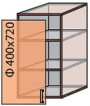 Модуль №3 в 400-720 верх кухни «Флоренция»