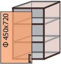 Модуль №4 в 450-720 верх кухни «Флоренция»