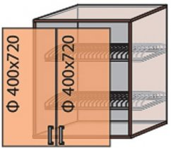Модуль №9 вс 800-720 верх кухни «Флоренция»