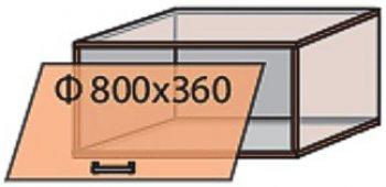 Модуль №11 в 800-360 верх кухни «Виктория New»
