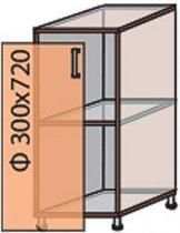 Модуль №2 н 300-820 низ кухни «Виктория New»