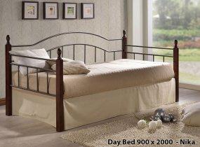 Кровать Onder Metal Metal&Wood Day Beds Nika 200х90см