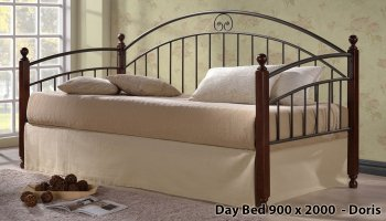 Кровать Onder Metal Metal&Wood Day Beds Doris 200х90 см