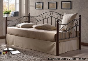 Кровать Onder Metal Metal&Wood Day Beds Melis 200х90 см