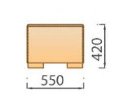 Модуль Пуф для модульного дивана Сиена