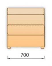 Модуль 1С70 для модульного дивана Модена