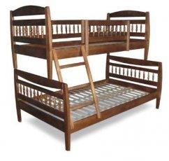 Двухъярусная кровать ТИС Комби - 90х140х200см
