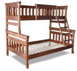 Двухъярусная кровать ТИС Комби 2 - 80х120х200см