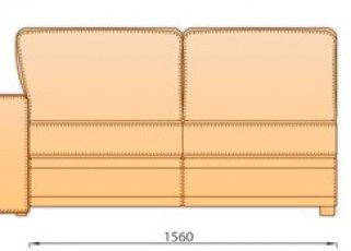 Модуль 3Р 1.56 для модульного дивана Майами