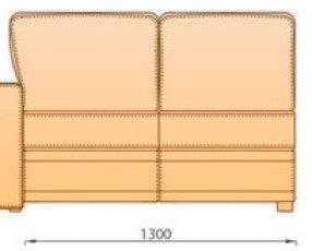 Модуль 3Р 1.26 для модульного дивана Майами