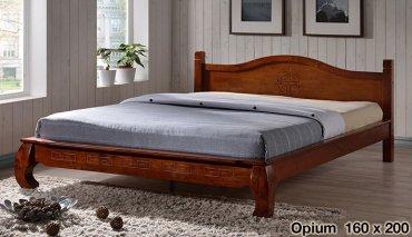 Кровать Onder Metal Metal&Wood Opium 200x160см