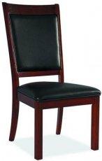 Деревянный стул с мягкой обивкой C-66