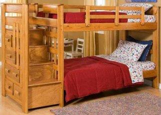 Детская двухъярусная кровать Justwood Авоська
