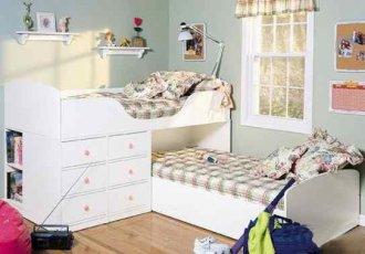 Двухъярусная кровать Justwood Умка