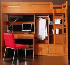 Кровать-чердак Justwood Леопольд