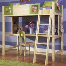 Кровать-чердак Justwood Веснянка
