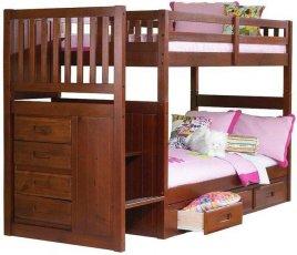 Двухъярусная кровать Justwood Шериф