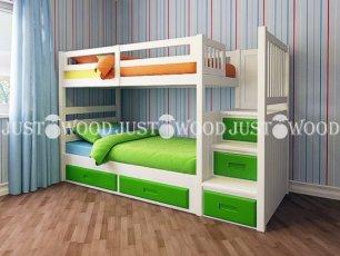 Двухъярусная кровать Justwood Шериф +
