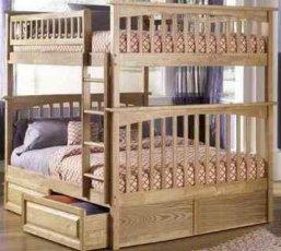 Двухъярусная кровать Justwood Простоквашино