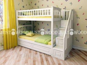 Двухъярусная кровать Justwood Простоквашино +
